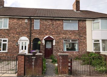 Thumbnail 3 bed terraced house to rent in Swallowhurst Crescent, Liverool