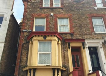 Thumbnail 1 bed flat to rent in Dalby Road, Margate