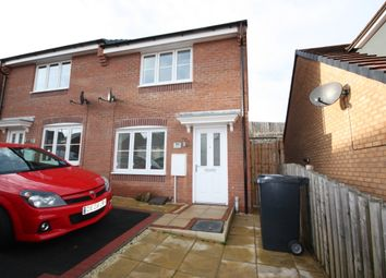 Thumbnail 2 bed semi-detached house to rent in Lamphouse Way, Wolstanton, Newcastle