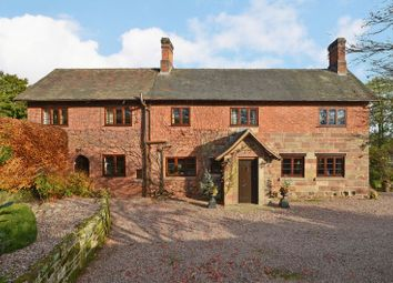 Thumbnail 5 bed detached house for sale in Offley Brook, Near Eccleshall, Staffordshire.