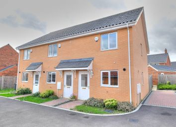 Thumbnail 2 bed end terrace house for sale in Ponsonby Way, Norwich