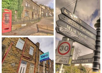 Thumbnail 3 bed terraced house for sale in Alma Street, Haworth, Keighley