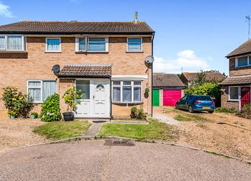 Thumbnail 3 bedroom semi-detached house for sale in Medeswell, Orton Malborne, Peterborough