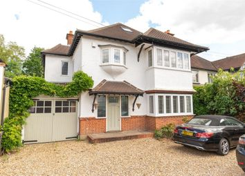 Thumbnail 5 bed detached house for sale in Garrick Close, Walton-On-Thames, Surrey