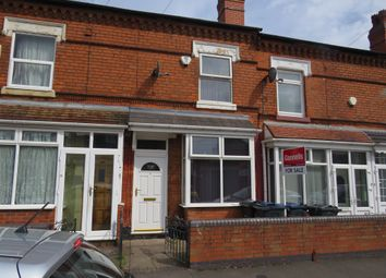 Thumbnail 3 bed terraced house for sale in Maidstone Road, Aston, Birmingham