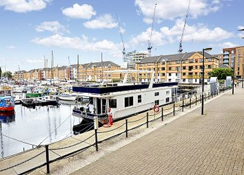 Thumbnail 4 bed houseboat for sale in South Dock Marina, Rotherhithe
