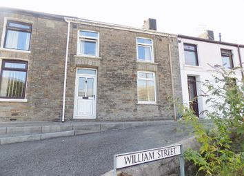 3 bed terraced house for sale in William Street, Pontycymer, Bridgend . CF32