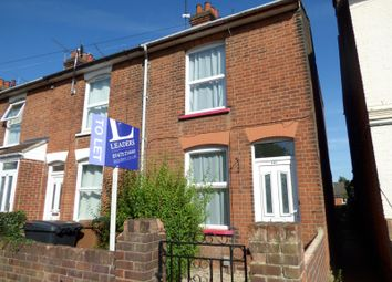 Thumbnail 2 bedroom end terrace house to rent in Orwell Road, Ipswich