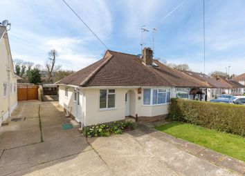 Thumbnail 2 bed semi-detached bungalow for sale in St Marys Drive, Pound Hill, Crawley, West Sussex