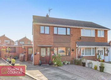 Thumbnail 4 bed semi-detached house for sale in Hafod Close, Connah's Quay, Deeside, Flintshire