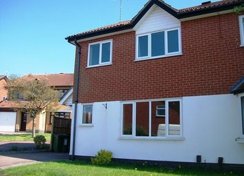 Thumbnail 3 bed semi-detached house to rent in Hayfield Close, Glenfield, Leicester