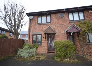 Thumbnail 2 bed end terrace house to rent in Fleetham Gardens, Lower Earley, Reading