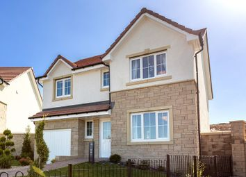 Thumbnail 4 bed detached house for sale in Broxden, Perth