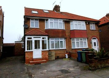 Thumbnail 4 bed semi-detached house for sale in Westleigh Gardens, Edgware, Middlesex