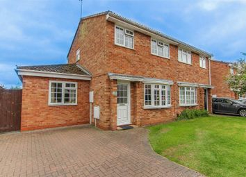 Thumbnail 3 bed semi-detached house for sale in Anderson Drive, Whitnash, Leamington Spa