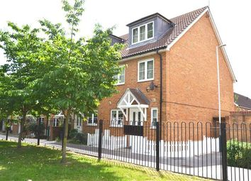 Thumbnail 4 bed end terrace house to rent in Bushy Close, Romford