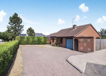 Thumbnail 3 bed bungalow for sale in Fosse Close, Enderby, Leicester