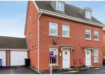Thumbnail 3 bed semi-detached house for sale in Coles Way, Grantham