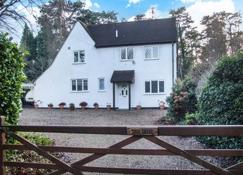 Thumbnail 3 bed detached house for sale in Rushmoor, Farnham, Surrey