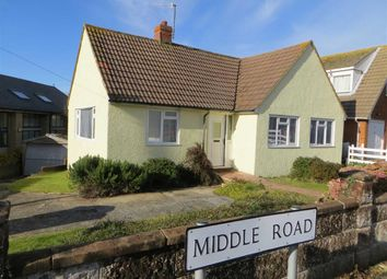 Thumbnail 3 bed detached bungalow for sale in Middle Road, Hastings, East Sussex