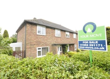 Thumbnail 3 bedroom semi-detached house for sale in The Grove Estate, St. Georges, Telford