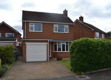 Thumbnail 3 bed detached house for sale in Fisherwick Close, Lichfield, Staffordshire