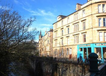 Thumbnail 3 bed flat for sale in Westbank Quadrant, Glasgow