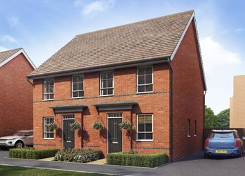 "Thumbnail 2 bedroom terraced house for sale in ""Tiverton"" at Chapel Hill, Basingstoke"