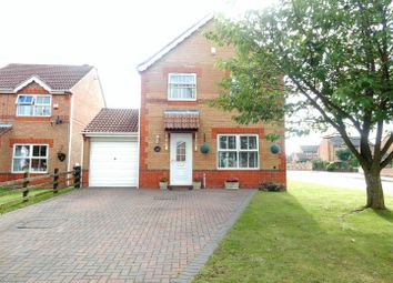Thumbnail 4 bed detached house for sale in Cavendish Close, Creswell, Worksop