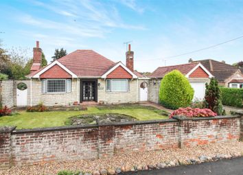 Thumbnail 3 bed detached bungalow for sale in Station Road, Cranswick, Driffield
