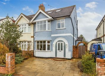 Thumbnail 4 bed semi-detached house to rent in King George Avenue, Walton-On-Thames, Surrey