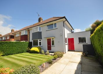 Thumbnail 3 bed semi-detached house to rent in Lawrence Avenue, Rustington, Littlehampton