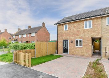 Thumbnail 2 bed end terrace house for sale in Medcalfe Way, Melbourn