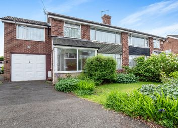 Thumbnail 4 bed semi-detached house for sale in Baslow Drive, Heald Green, Cheadle