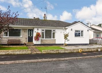 Thumbnail 3 bed semi-detached bungalow for sale in Tor Gardens, East Ogwell, Newton Abbot, Devon.