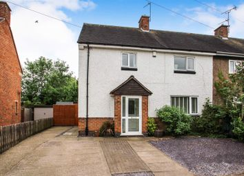 Thumbnail 3 bed semi-detached house for sale in Babington Road, Rothley, Leicester