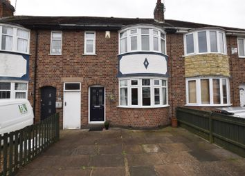 Thumbnail 3 bed terraced house for sale in Balmoral Drive, Leicester