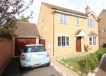 Thumbnail 4 bed detached house for sale in Wick Road, Hampton Hargate, Peterborough