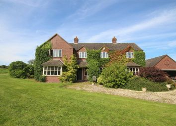 Thumbnail 4 bed detached house for sale in Hanchurch, Stoke-On-Trent