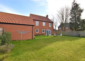 Thumbnail 4 bed detached house for sale in Hazel Walk, Alford, Lincolnshire