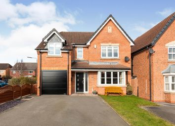 Thumbnail 4 bed detached house for sale in Kirkley Drive, Heanor