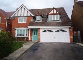 Thumbnail 4 bed detached house to rent in Lon Lindys, Rhoose, Barry