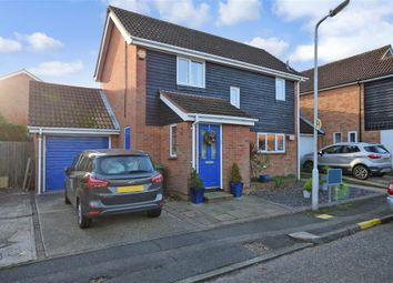 Thumbnail 3 bed detached house for sale in Menzies Avenue, Basildon, Essex