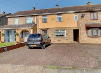 Thumbnail 3 bed terraced house for sale in Swale Avenue, Peterborough