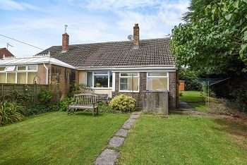 Thumbnail 2 bed semi-detached bungalow for sale in Bradley Close, Warminster BA128Bw