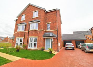 Thumbnail 3 bed semi-detached house for sale in Linden Crescent, Yarm