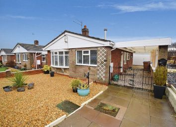 Thumbnail 2 bed detached bungalow for sale in Norbury Avenue, Milton, Stoke-On-Trent
