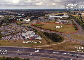 Thumbnail Land to let in Broadland Business Park, Peachman Way, Norwich, Norfolk