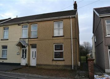 Thumbnail 3 bed semi-detached house for sale in Mill Terrace, Pantyffynnon, East Carmarthenshire, Ammanford