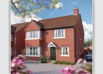 "Thumbnail 4 bedroom detached house for sale in ""The Canterbury"" at Needlepin Way, Buckingham"